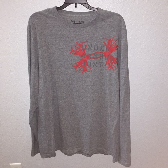 e04c7d0a Under Armour Shirts | Under Armor Hunt Long Sleeve Shirt | Poshmark